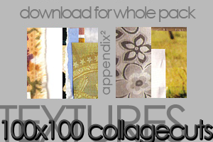 Textures - Collage Cuts by Pinkly-Icons