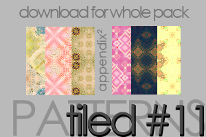 Patterns - Tiled 11 by Pinkly-Icons