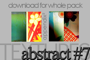 Textures - Abstract 7 by Pinkly-Icons