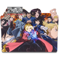Fullmetal Alchemist Brotherhood - Icon Folder by ubagutobr