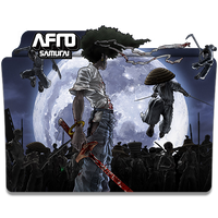 Afro Samurai - Icon Folder by ubagutobr