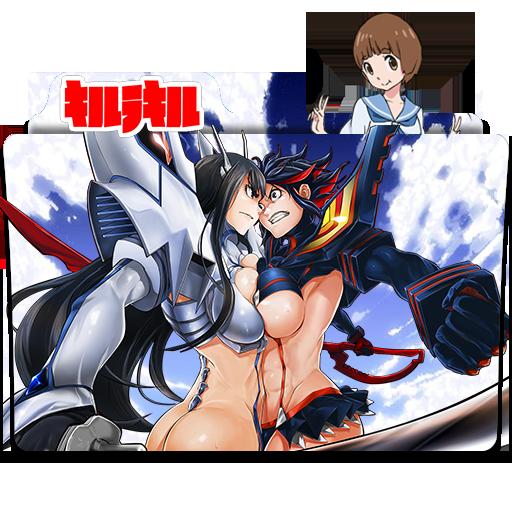 Kill la Kill - Icon Folder by ubagutobr