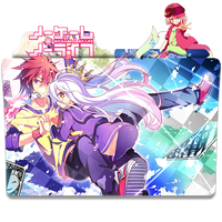 No Game No Life - Icon Folder by ubagutobr