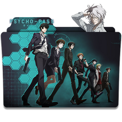 Psycho pass - Icon Folder by ubagutobr