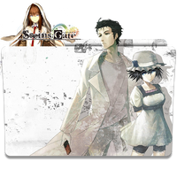 Steins Gate - Icon Folder by ubagutobr