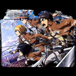 Shingeki No Kyojin - Icon Folder
