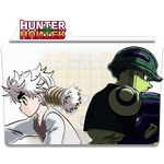 Hunter X Hunter v2 (Meruem e Komugi) - Icon Folder