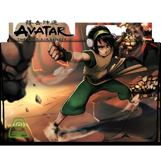 Avatar The Last Airbender v3 (Toph) - Icon Folder by ubagutobr