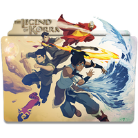 Avatar The Legend of Korra - Icon Folder by ubagutobr