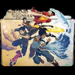 Avatar The Legend of Korra - Icon Folder