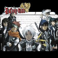 D.Gray Man - Icon Folder by ubagutobr