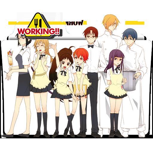 """Képtalálat a következőre: """"Working!! anime ico"""""""