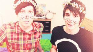 Danisnotonfire and amazing Phil