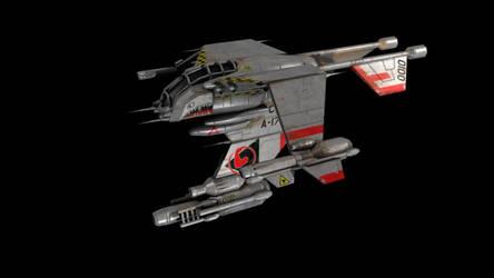 Starcraft Wraith 3D model