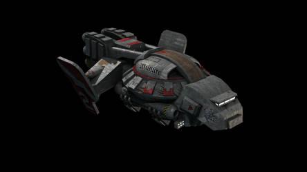 Starcraft Valkyrie 3D model