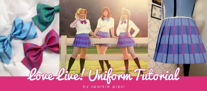 Love Live! Skirt Tutorial