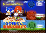 Sonic Pong