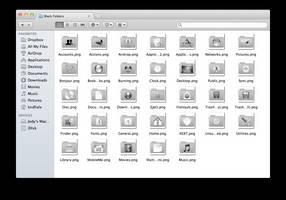 Black Mac Folders Replacement by kndllalx