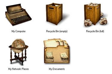 British Library for IconTweake by shamka