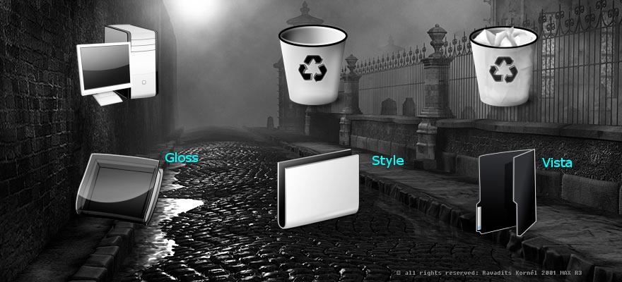 Black-White 2 for IconTweaker by shamka