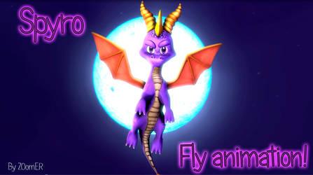 [Animation] Spyro Fly Test!