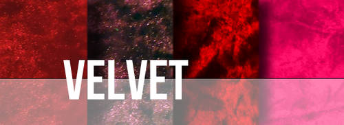 Velvet Texture Set by YvelleDesignEye