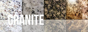 Granite Texture Set by YvelleDesignEye