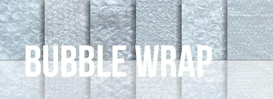 Bubble Wrap Texture Set by YvelleDesignEye