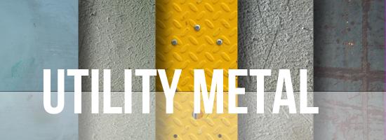 Utility Metal Texture Set by YvelleDesignEye
