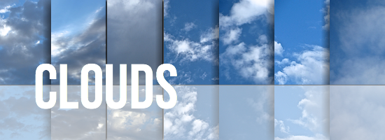 Clouds Texture Set by YvelleDesignEye