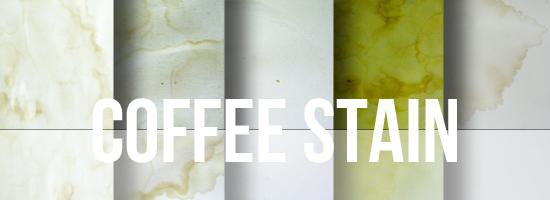 Coffee Stain Texture Set by YvelleDesignEye