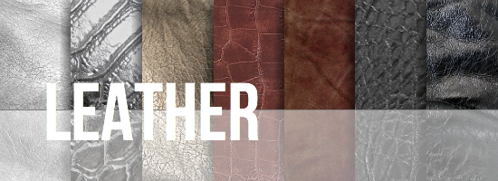 Leather Texture Set by YvelleDesignEye