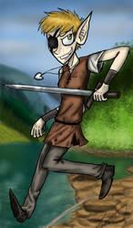 Ylja the warrior elf