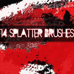 14 Splatter brushes
