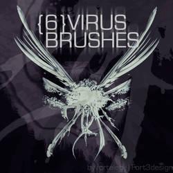 Virus Photoshop Brushes by Fortelegy