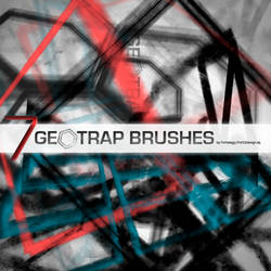 GeoTrap Photoshop Brushes by Fortelegy
