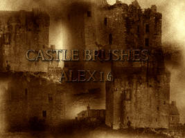 castle grunge brushes by alex16