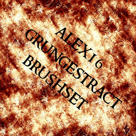 grungestract brushset by alex16