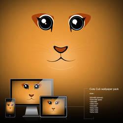 cute cub wallpaper by calincio
