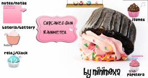 Cupcake Skin Rainmeter
