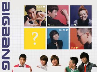 six BIGBANG icons by xinping2016