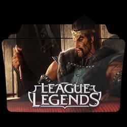Draven Awaken League Of Legends Icon by NoName12D on DeviantArt