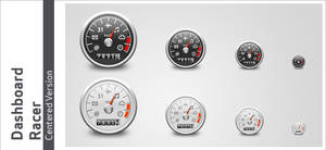 Dashboard Racer - Centered Ver
