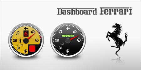 Dashboard Ferrari by whyred