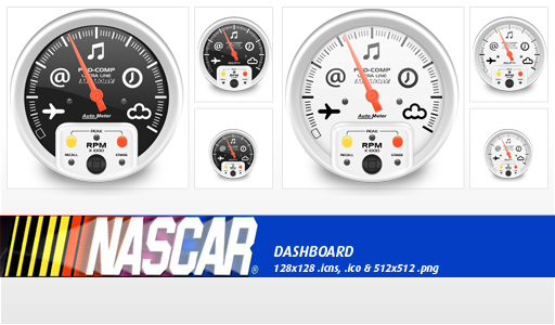 Dashboard Nascar Icon By Whyred On Deviantart