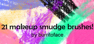 21 MAKEUP SMUDGE  BRUSHES