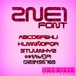 +FONT 2NE1