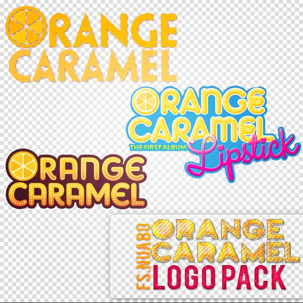 Orange Caramel  Logo pack
