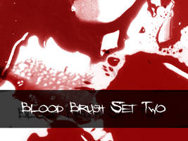 Blood Brushes Set Two by inmate0fmymind