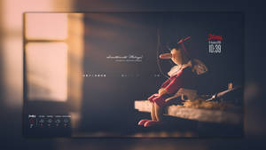 Conky Vision 2 (Rainmeter)  by HipHopium